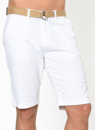 Cazador Bermuda Beyaz